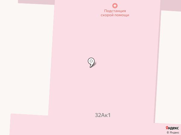 Скорая медицинская помощь, Больница скорой медицинской помощи на карте
