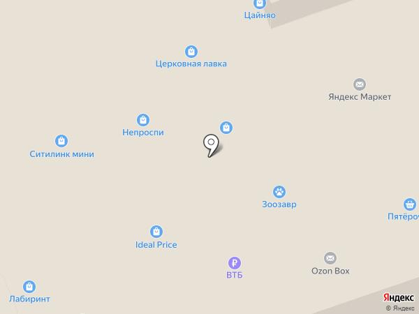Лабиринт на карте