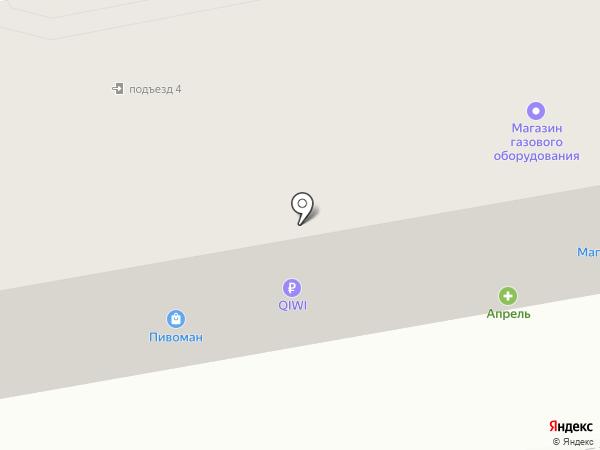 Участковый пункт полиции Управления МВД России по г. Дзержинску на карте