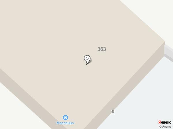Масленыч на карте