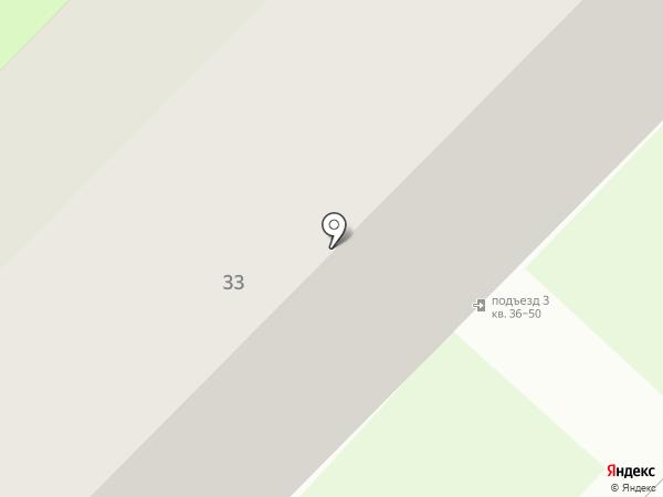 Первомайская поселковая библиотека на карте