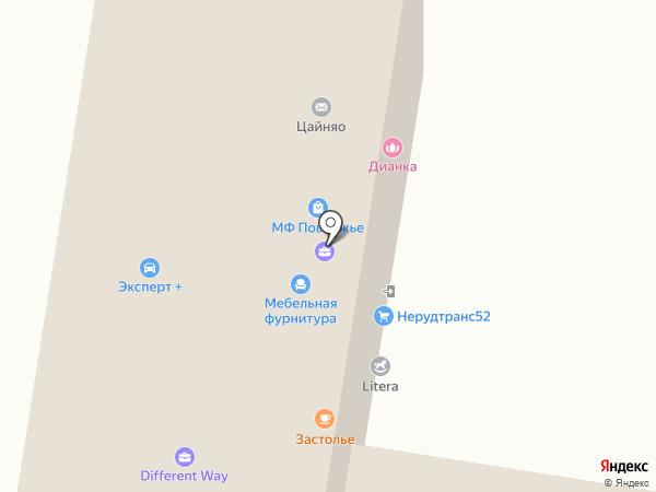 МЕДВЕДЬ-НН на карте