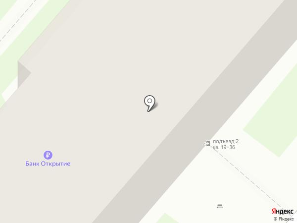 Окский берег на карте