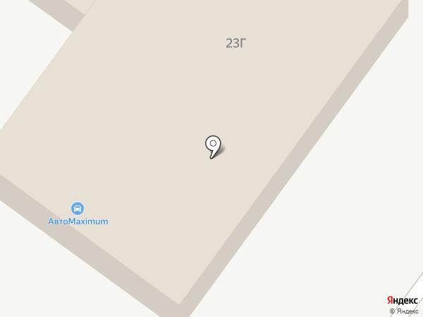 АвтоMaximum на карте