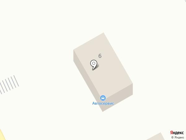 Продуктовый магазин на Центральной на карте
