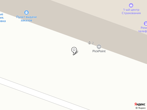 Коробочка на карте