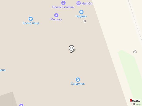 Принт-сервис на карте