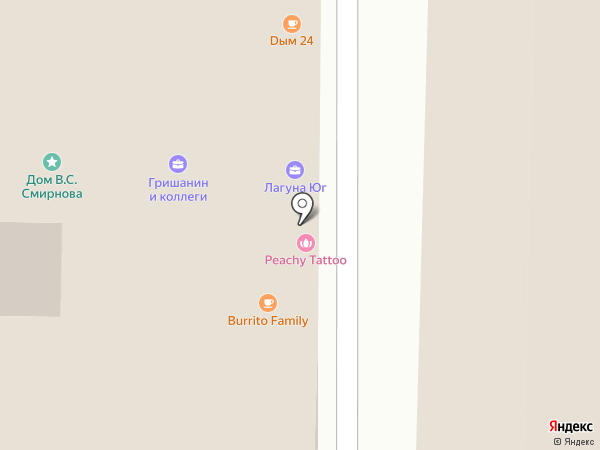 Адвокатский кабинет Гришанина И. К. на карте