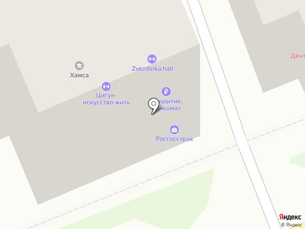 Тамбурин на карте