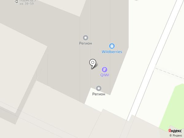 NPS на карте