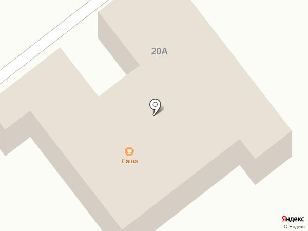 Саша на карте