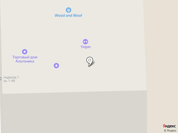Альтоника на карте