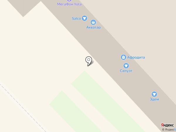 Чемодановка на карте