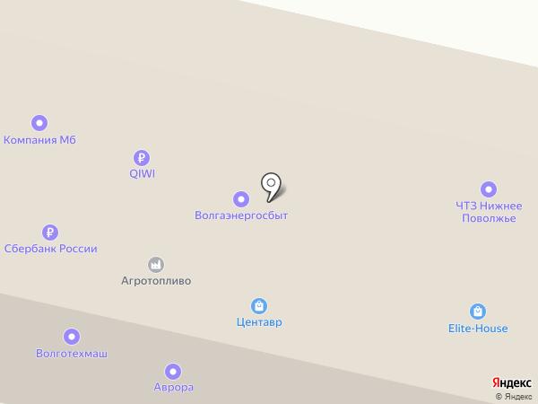 РЕАКТИВ на карте