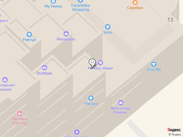 Пряжа-креатив на карте
