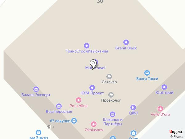 РАТ на карте