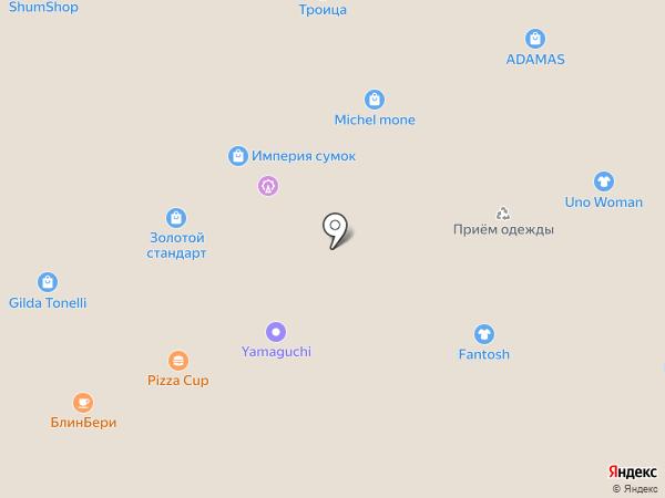 Velars на карте