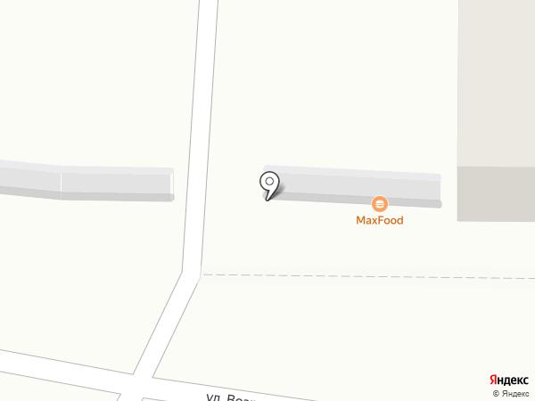 MaxFood на карте