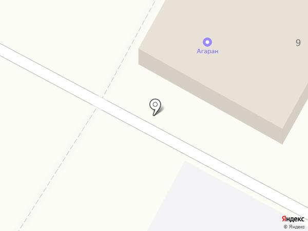 АГАРАН на карте
