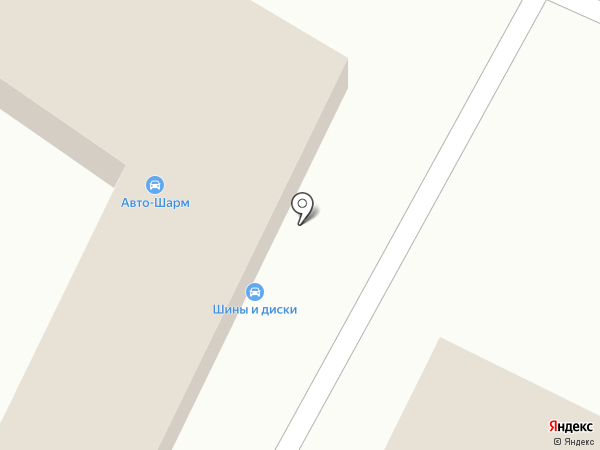 Авто-шарм на карте