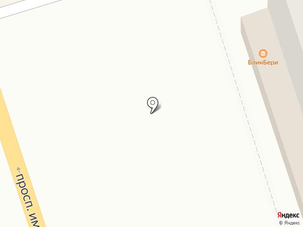 БлинБерри на карте