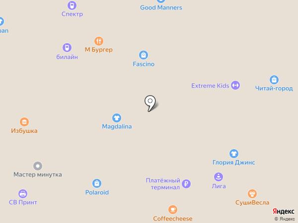fascino на карте