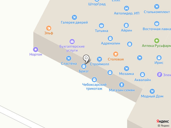 Сетка+ на карте