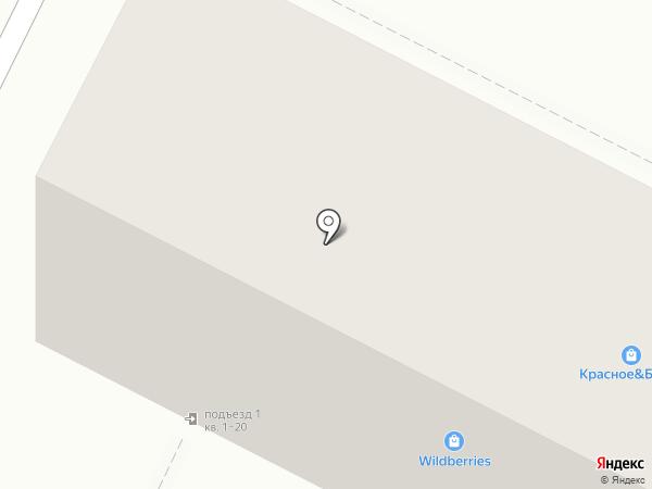 Станица Крещенская на карте