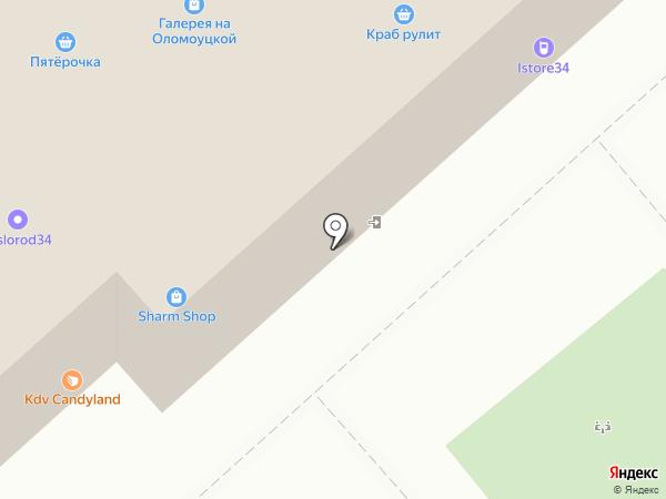 Галерея на Оломоуцкой на карте
