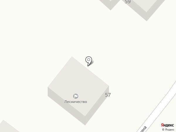 Среднеахтубинское лесничество на карте