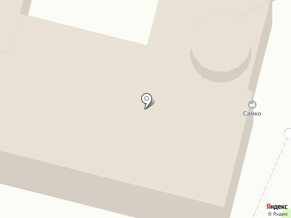 Самко на карте