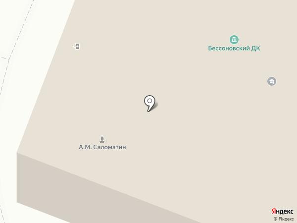 Межпоселенческая центральная районная библиотека Бессоновского района на карте