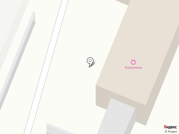Королева на карте