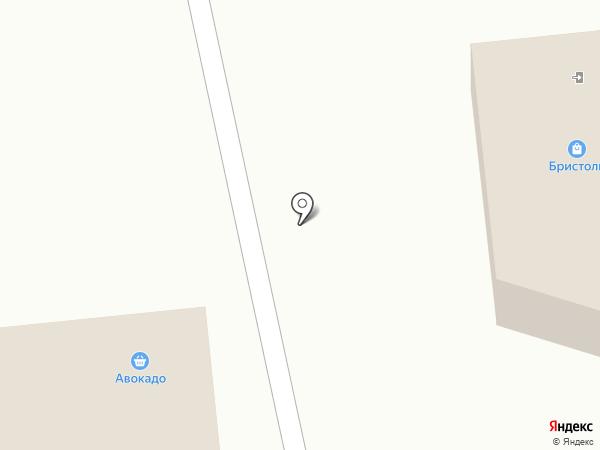 Берсеневский на карте