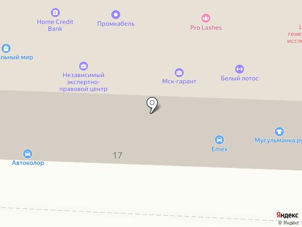 Независимый экспертно-правовой центр на карте