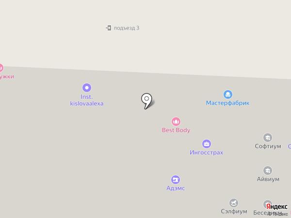 Центр современной медицины Онегин на карте