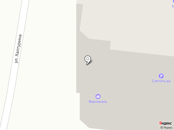 АК-сервис на карте