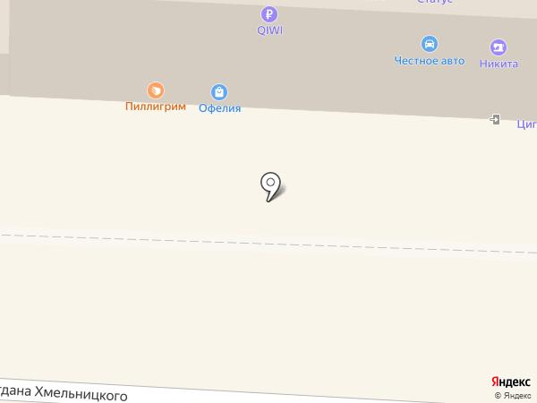 ОРАНТА на карте