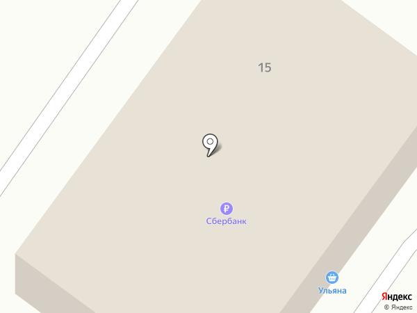 Ульяна на карте