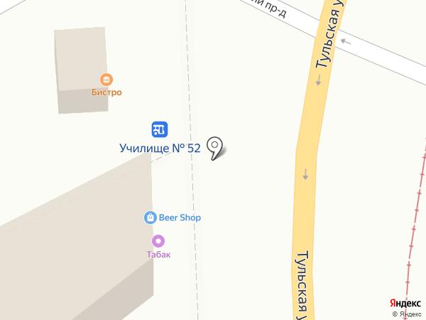 Булочка на карте