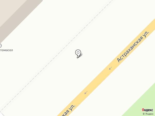 Тракт-Саратов на карте