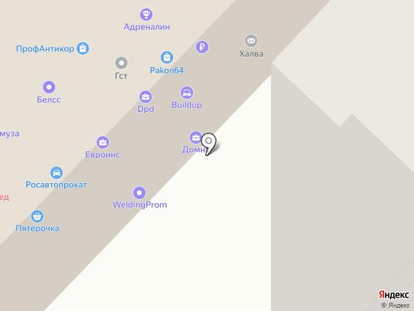 АллоТакси на карте