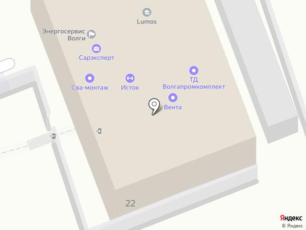 Геокомплекс-изыскание на карте