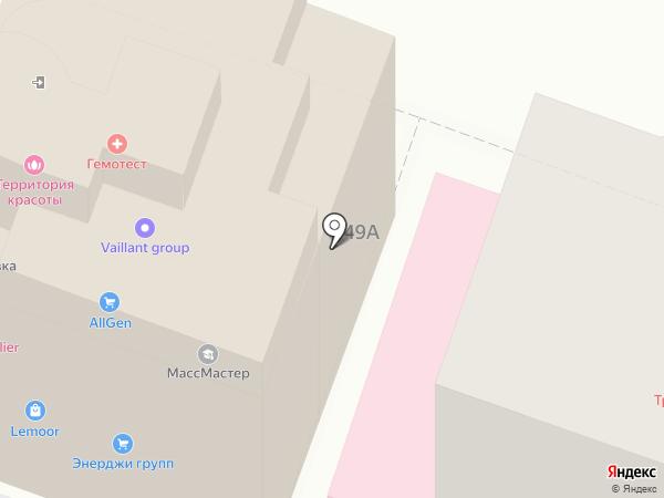 Вершина-Саратов на карте