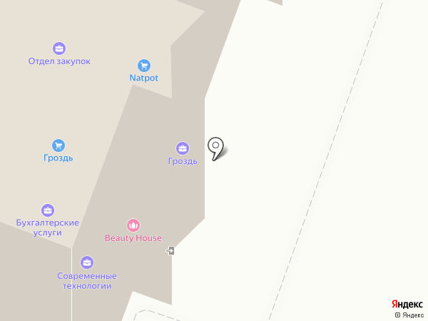 Аэролит Строй на карте