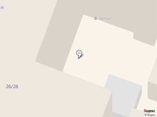Бизнес-отель на карте
