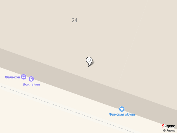 Bravo на карте