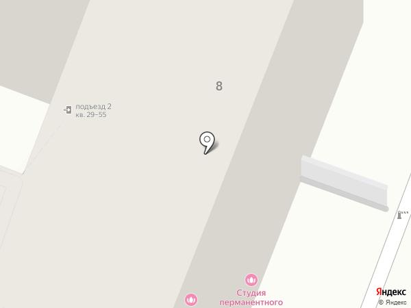 Континент, ТСЖ на карте