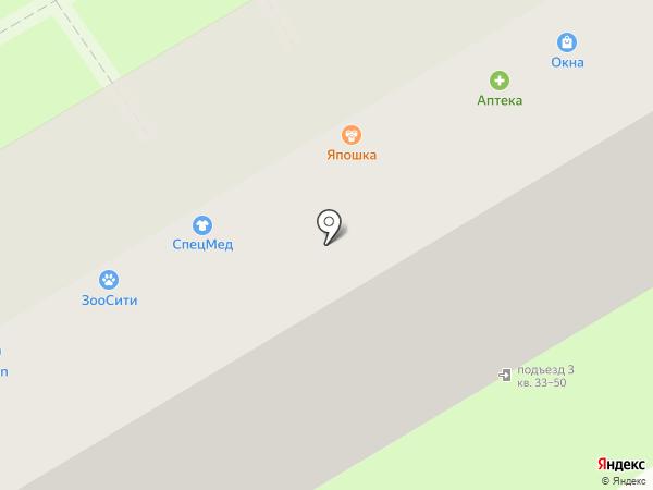 Строй-пласт на карте