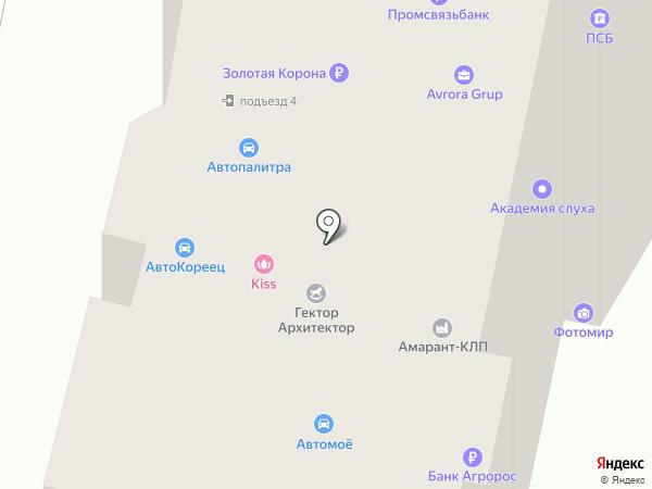 MANU на карте
